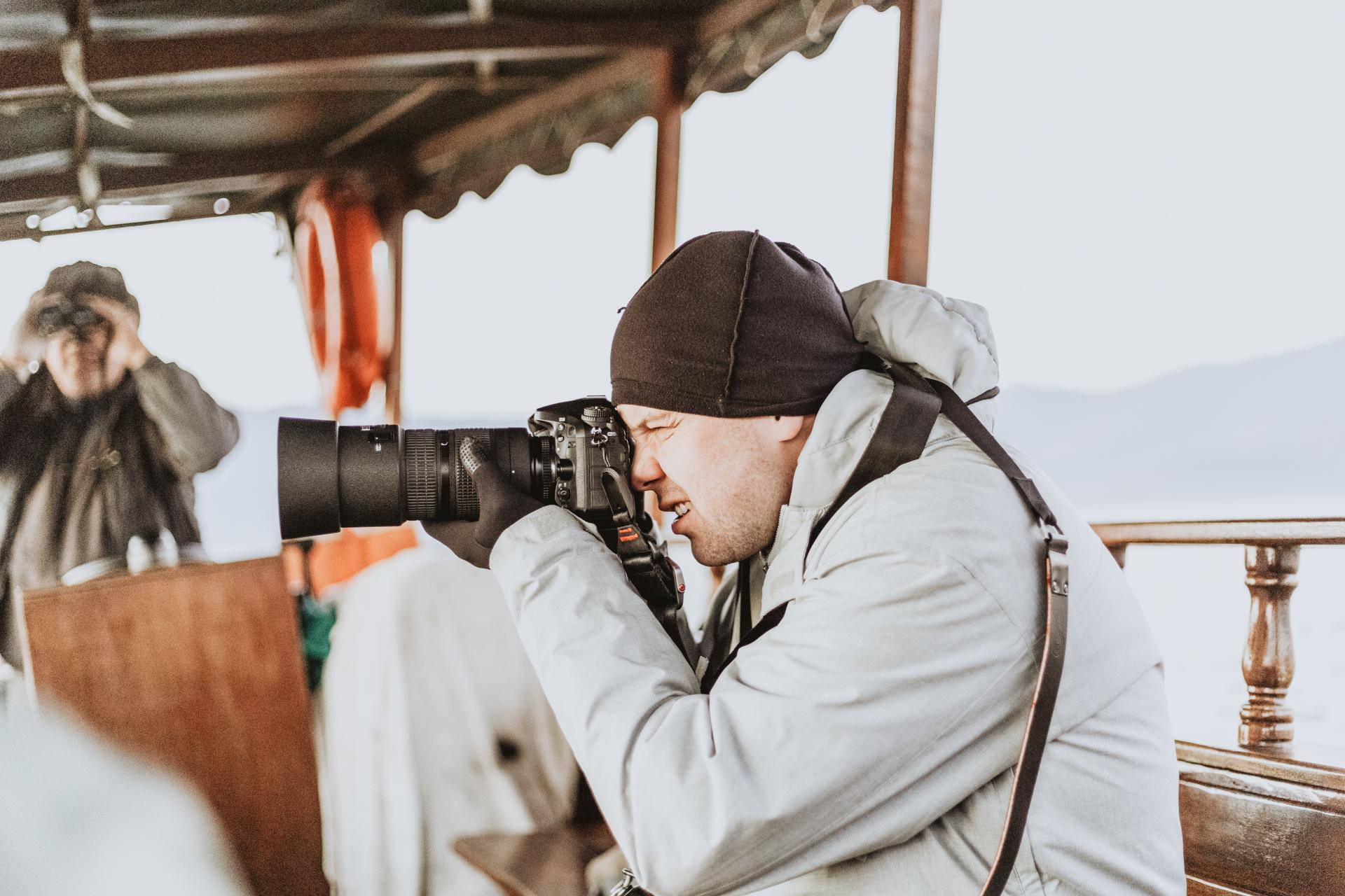 Fotowyprawa pelikany Kerkini - ekipa